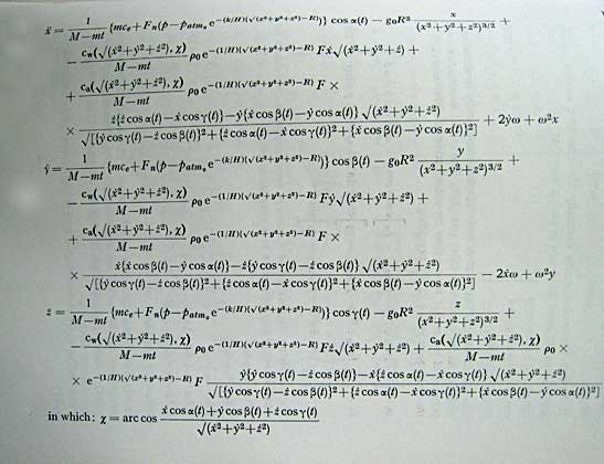Rocket Science Formula of 'rocket Science'