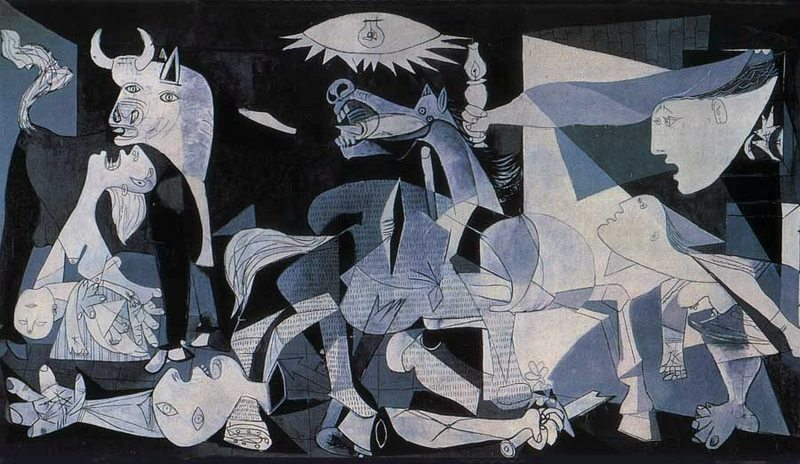 guernica conflicting perspectives In this large painting, sophie matisse fuses the composition of pablo picasso's guernica (1937), with her great-grandfather henri matisse's palette of color to present her own unique perspectives of trauma.