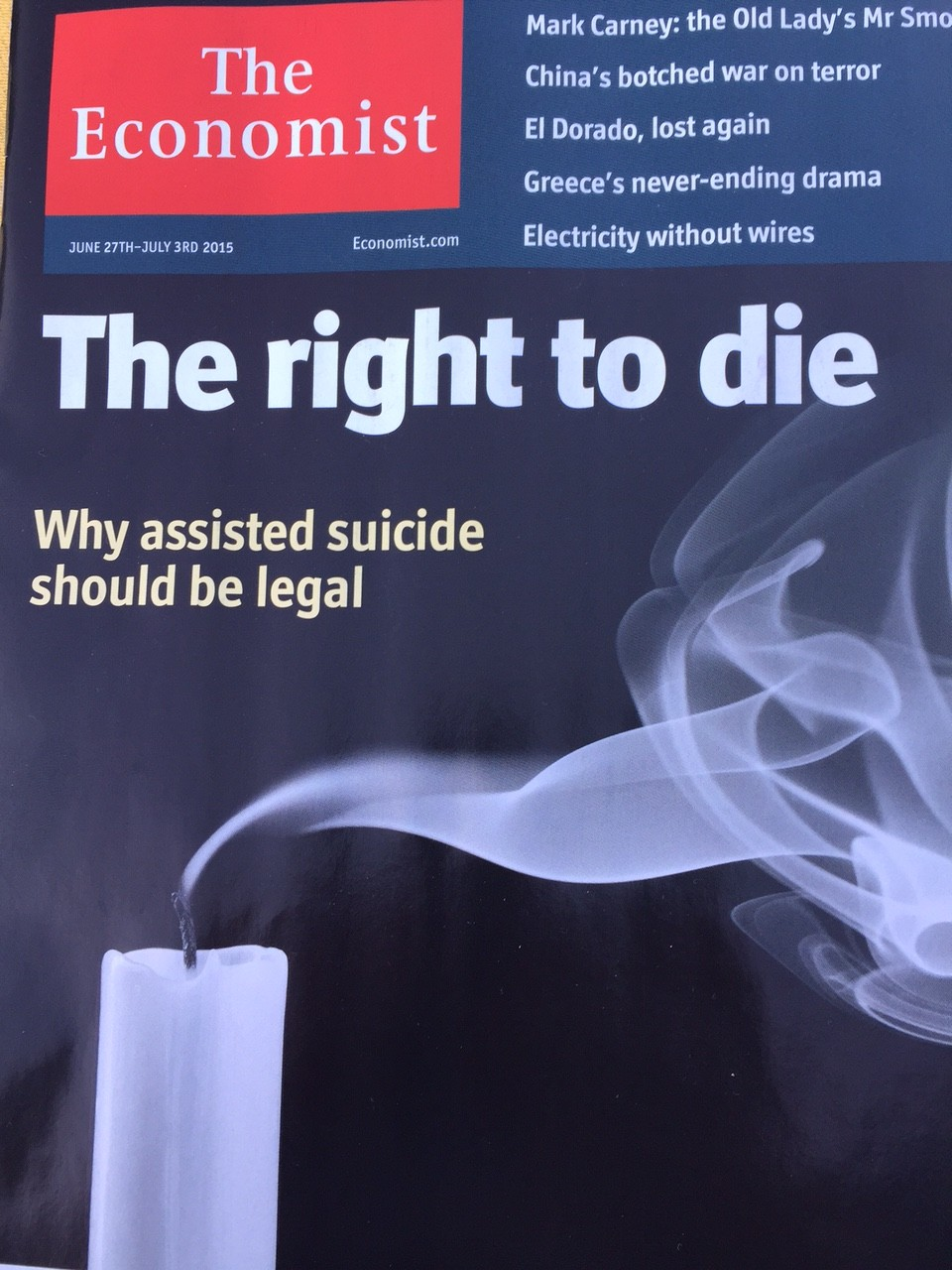 right to die essays Debate whether or not people have the right to die voice your opinion and learn more about each side of the debate.
